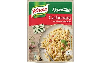 Knorr Spaghetteria Carbonara pasta ateria-ainekset 154 g