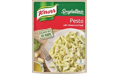 Knorr Spaghetteria Pesto pasta ateria-ainekset 155 g
