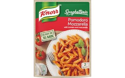 Knorr Spaghetteria Pomodoro Mozzarella pasta ateria-ainekset 163 g