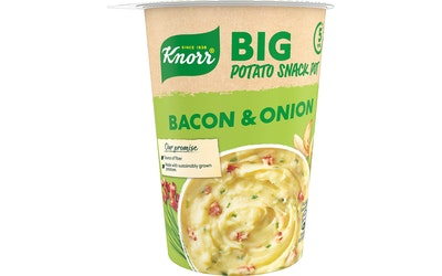Knorr Snack Pot BIG Mash Potatoes Bacon & Onion 76g