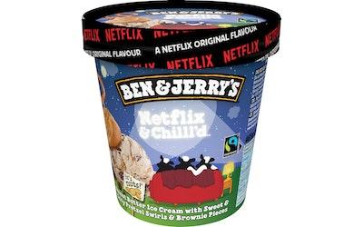 Ben&Jerry's jäätelö 465ml/405g Netflix&Chilll'd