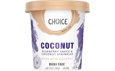 Choice veganinen jäätelö 465ml mustikka ja kookos