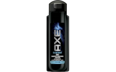 Axe shampoo 300ml Clean Rush 3in1