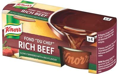 Knorr Fond du Chef tumma naudanliha-annosfondi 4x28g