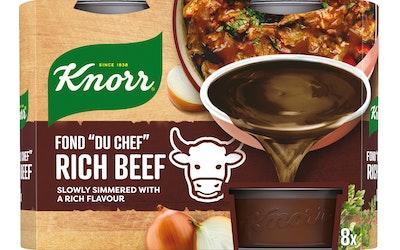 Knorr Fond du Chef tumma naudanliha-annosfondi 8x28g