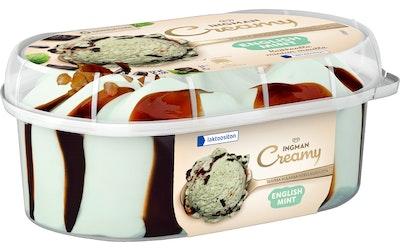 Ingman Creamy 850ml English Mint laktoositon