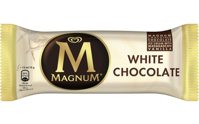 Magnum jäätelöpuikko 79g/110ml White Chocolate