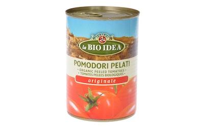 La Bio Idea Luomu kuorittu tomaatti tomaattimehussa 400g