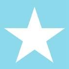 Ambiente Star blue lautasliina 20kpl 25cm