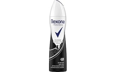 Rexona deo spray 150ml Women Invisible for Black White