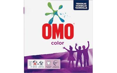 Omo pyykinpesujauhe 1,26kg Color