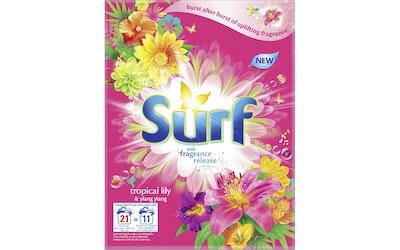 Surf Tropical Lily & Ylang Ylang pyykinpesujauhe 660g