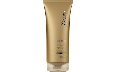 Dove DermaSpa vartalovoide 200ml Summer Revive Dark - kuva