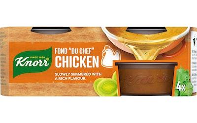 Knorr FOND DU CHEF Kana-annosfondi 4 x 28 g