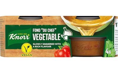 Knorr FOND DU CHEF Kasvis-annosfondi 4 x 28 g
