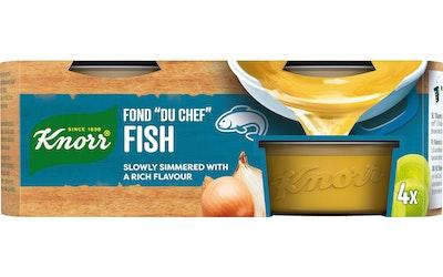 Knorr FOND DU CHEF Kala-annosfondi 4 x 28 g