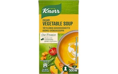 Knorr täyteläinen kasvissosekeitto 500ml