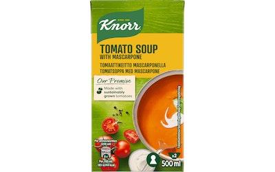 Knorr tomaattikeitto mascarpone-juustolla 500ml