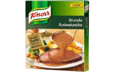 Knorr ruskeakastike 3x 23g/3dl