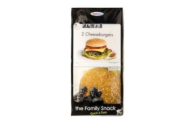 Texas James cheeseburger 2x125g