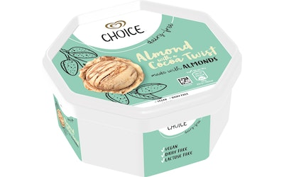 Choice 750ml Almond with cocoa