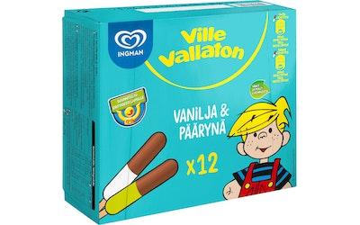 Ville Vallaton 12x35ml Vanilja-Päärynä