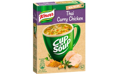 Knorr Cup a Soup Thai-kanakeitto 3x18g