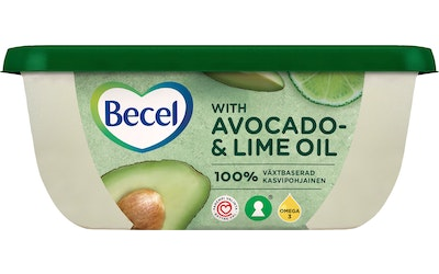 Becel 375g with avocado&lime oil lakt70%