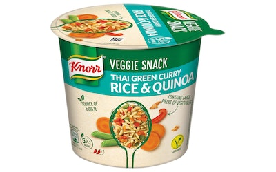 Knorr Veggie Snack Thai Green Curry 69g