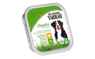 Yarrah koiran annosrasia kana/vihannes 150g bio