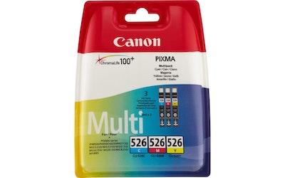 Canon CLI-526 kolmivärimustekasetti