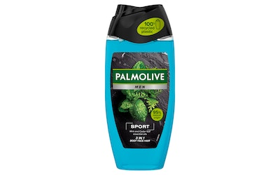 Palmolive Men suihkusaippua 250ml Sport 3in1