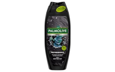 Palmolive Men suihkus 500ml Refreshing 3in1