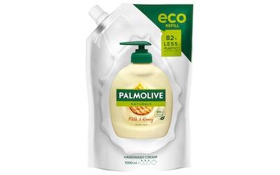 Palmolive nestesaippua 1L Naturals Nourishing täyttöpussi