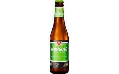 Mongozo Premium Pilsner 5% 0,33l luomu Reilu Kaupan tuote