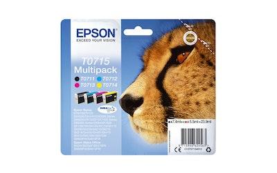 Epson T0715 multipack mustekasettipakkaus
