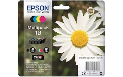 Epson 18 multipack mustekasettipakkaus