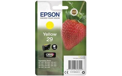 Epson 29 mustekasetti keltainen