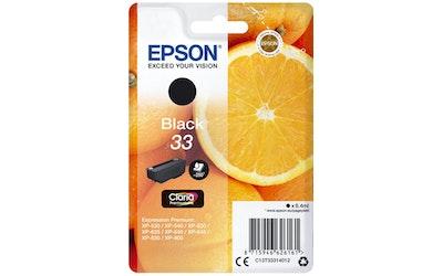 Epson 33 mustekasetti musta