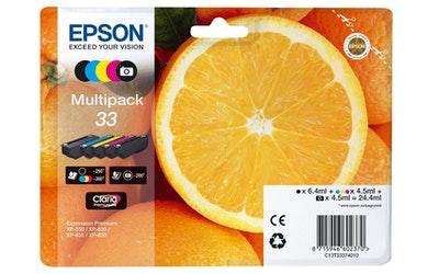 Epson 33 multipack mustekasettipakkaus
