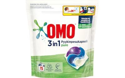 Omo pyykinpesuainekapselit 15kpl Pure