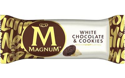 Magnum White Chocolate & Cookies 78g