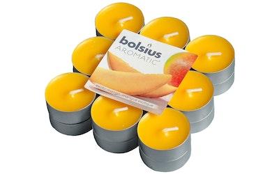 Bolsius lämpökynttilä 18kpl mango