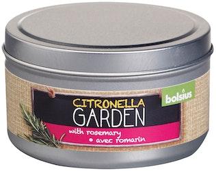 Bolsius Citronella kynttiläpurkki Rosemary 49/87mm