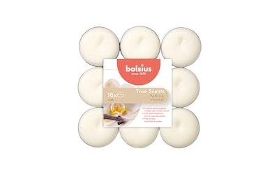 Bolsius tuoksulämpökynttilä 18kpl vanilja