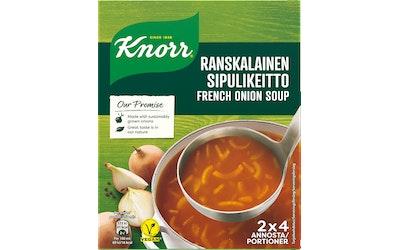 Knorr Ranskalainen Sipulikeitto keittoainekset 2 x 52 g