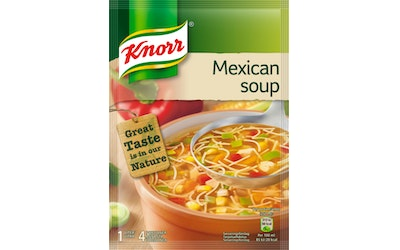 Knorr Mexicanakeitto keittoainekset 64g