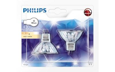 Philips halogeenikohde GU5.3 35W 430lm 2kpl