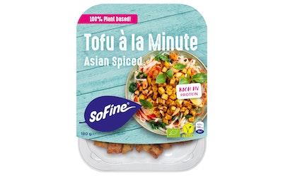 Sofine 180g Marinoidut Asian maustetut Luomu Tofupalat