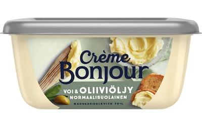 Crème Bonjour 400g voi&oliiviöljy rasvaseos